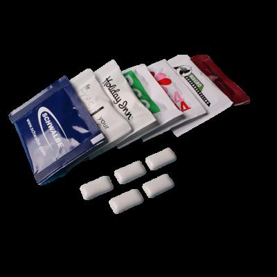 Promotie zakjes kauwgom pepermunttabletten (dextrose) (2 x 2,5 g)