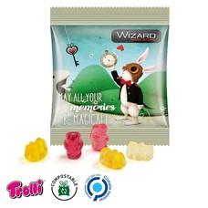 Trolli Bedrukte snoepzakjes - gummibeertjes 10 gr.