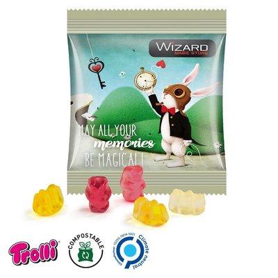 Trolli Bedrukte give away snoepzakjes - gummibeerjtes 10 gr.