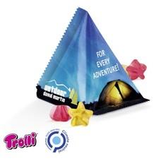 Trolli Gummy piramide snoep bedrukt -15gr