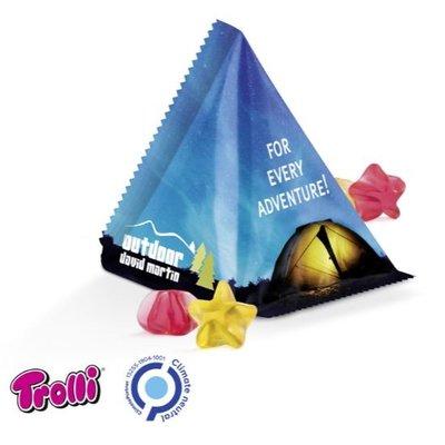 Trolli Gepersonaliseerde gummy snoep piramide - 15gr