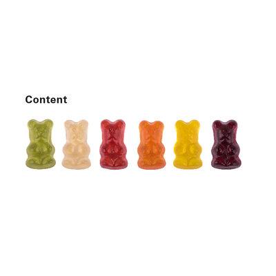 Trolli Bedrukte veggie gummibeertjes 12 gr. in composteerbare verpakking