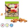 Snackzakje met appelstukjes personaliseren