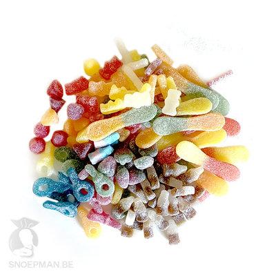 De beste zure snoep om snoepzakjes te vullen!