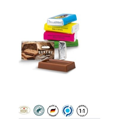 Napolitain chocolade bedrukken met logo