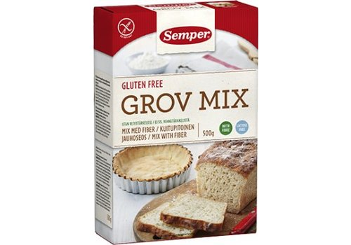 Semper Vezelrijke Broodmix (Grov Mix)