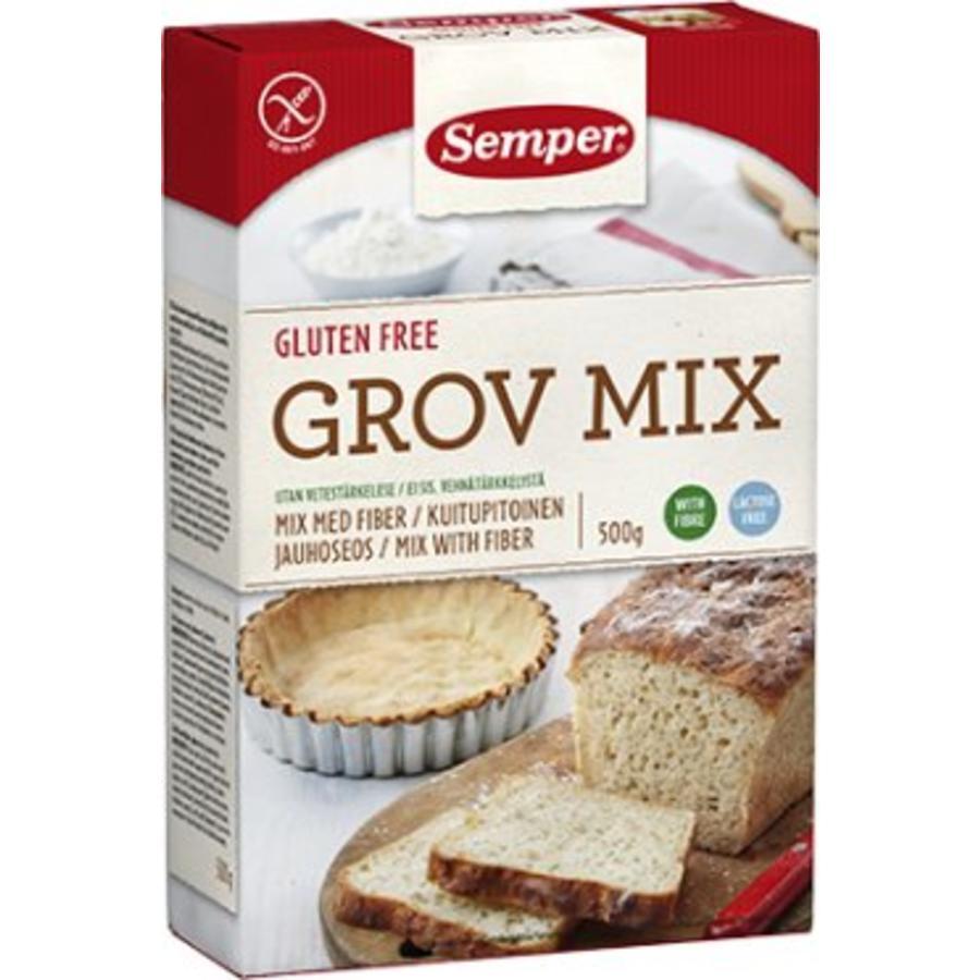 Vezelbroodmix (Grov Mix)