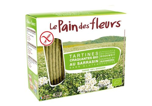 Le Pain des Fleurs Crackers Boekweit Biologisch