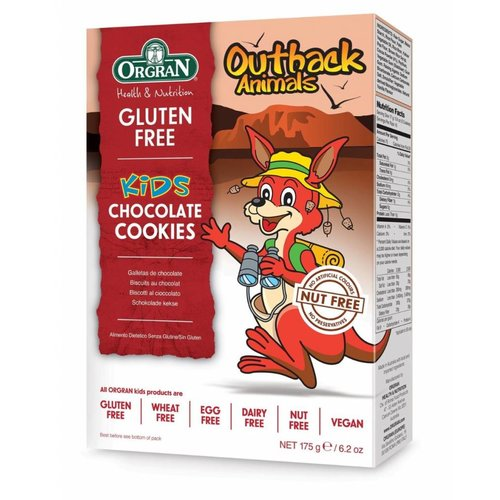 Orgran Outback Animals Chocolate Cookies (THT 28-05-2019)