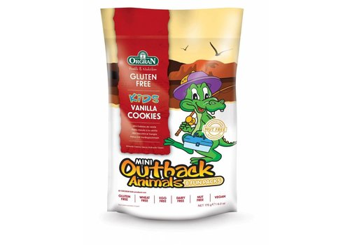 Orgran Mini Outback Animals Vanilla Cookies Multipack (THT 19-1-2020)