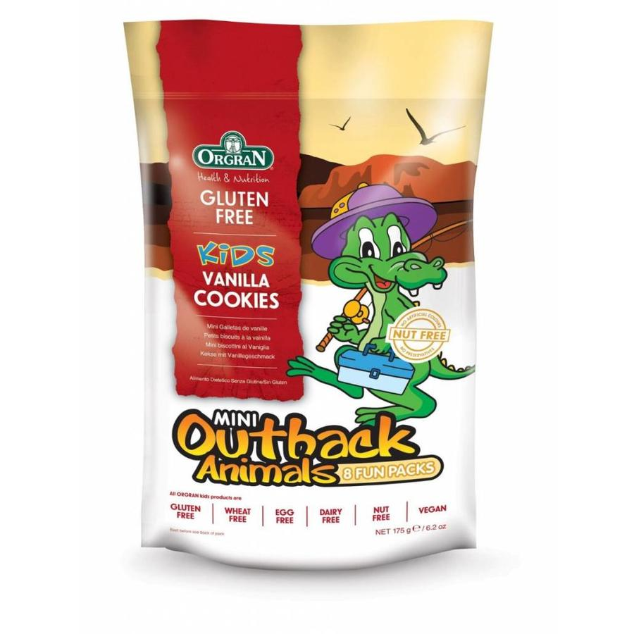 Mini Outback Animals Vanilla Cookies Multipack (THT 03-06-2019)