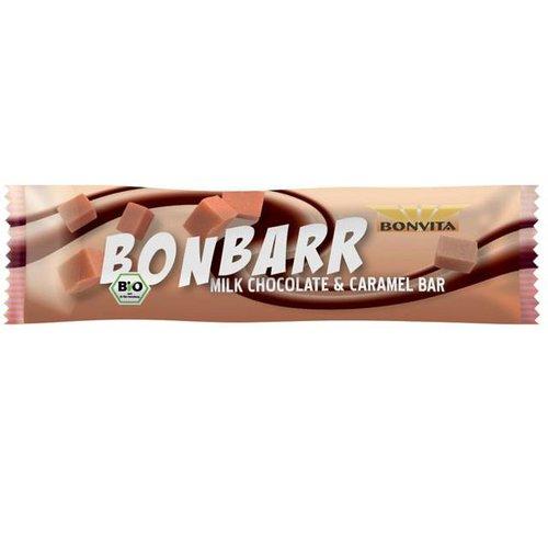 Bonvita Bonbarr Melkchocolade met Karamel Biologisch