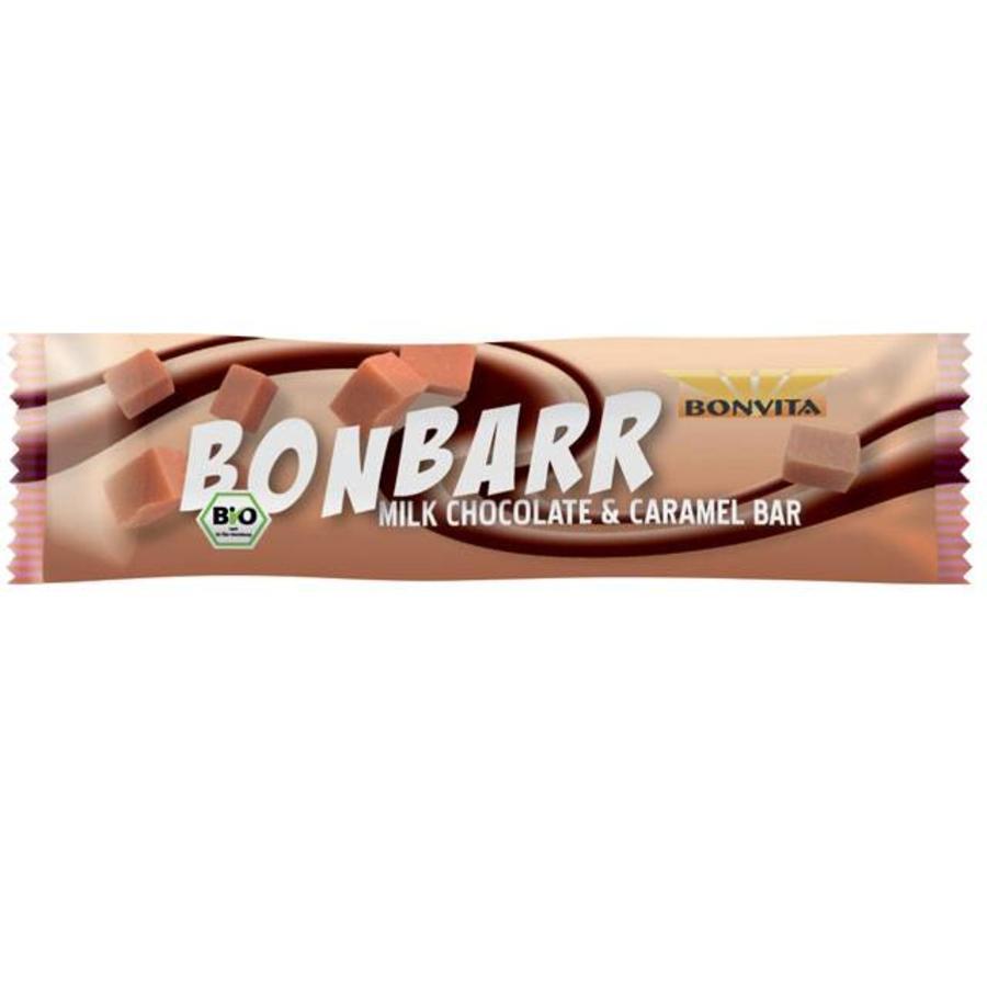 Bonbarr Melkchocolade met Karamel Biologisch