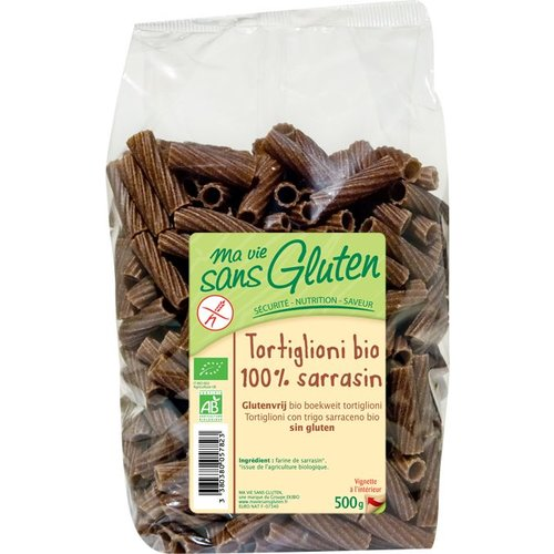 Ma Vie Sans Gluten Boekweit Penne (Tortiglioni) Biologisch
