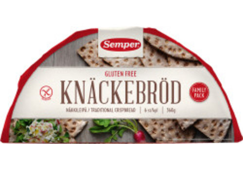 Semper Knäckebröd Family Pack (Halve Maan)