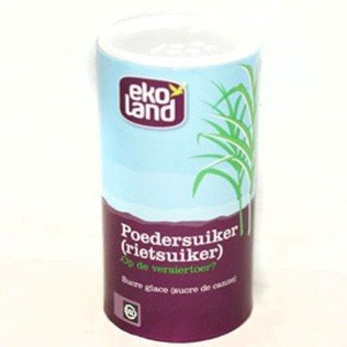 Ekoland Poedersuiker (rietsuiker) Biologisch