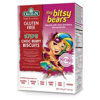 Itsy Bitsy Bears Choc Berry Biscuits