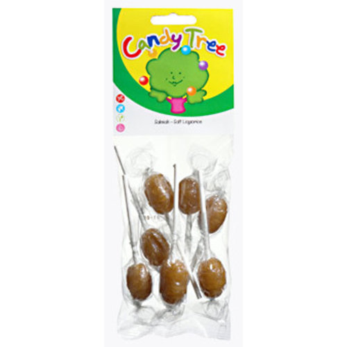 Candy Tree Salmiaklollies (7 stuks)