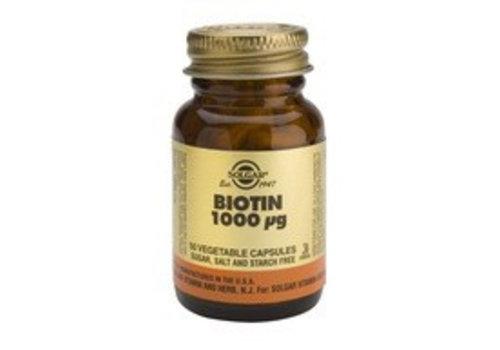 Solgar Biotin 1000 µg (50 capsules)