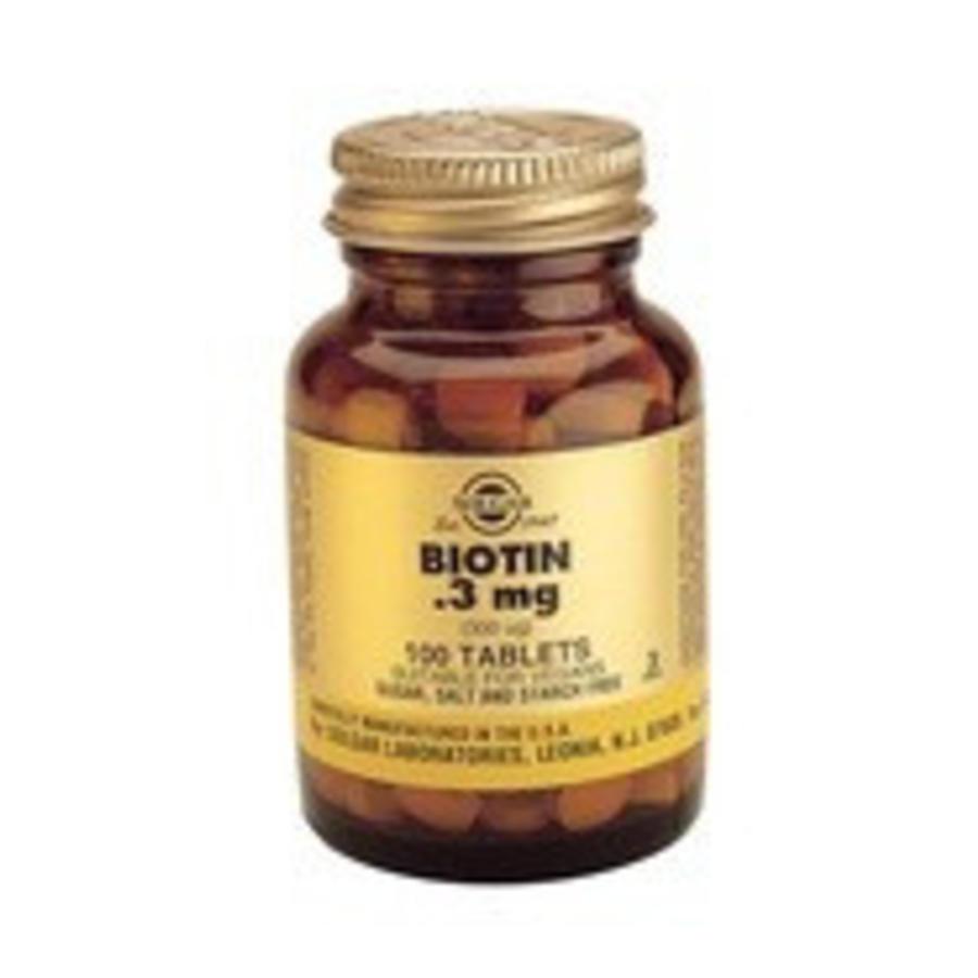 Biotin 300 µg (100 tabletten)