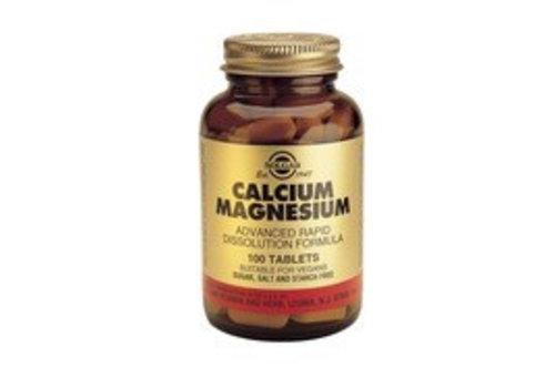 Solgar Calcium / Magnesium (100 tabletten)