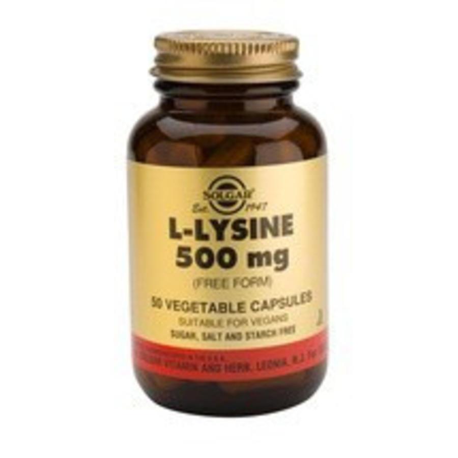 L-Lysine 500 mg (50 capsules)