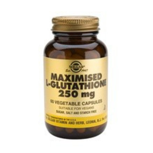 Solgar Maximised L-Glutathione 250 mg (60 capsules)