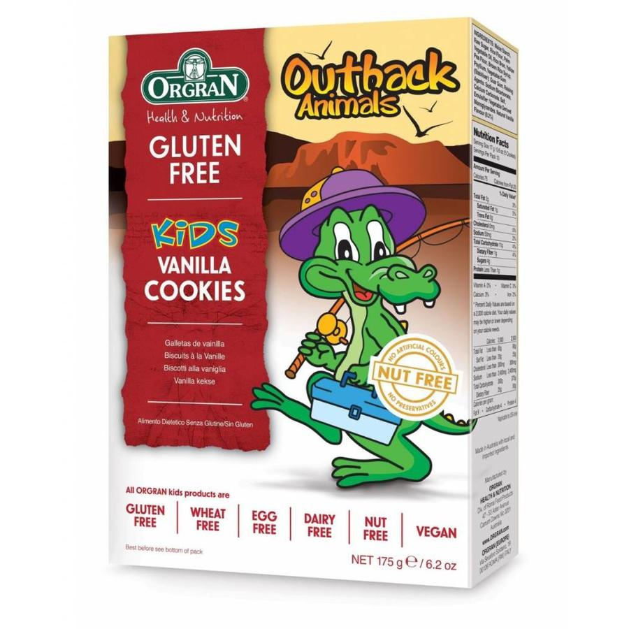 Outback Animals Vanille Cookies