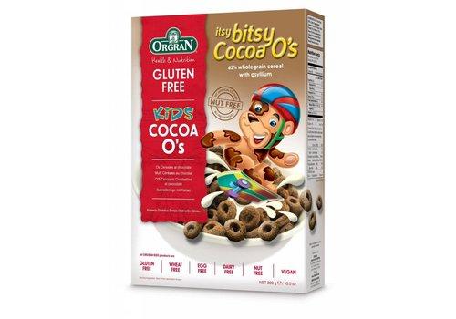 Orgran Itsy Bitsy Cocoa O's (THT 6-12-2020)