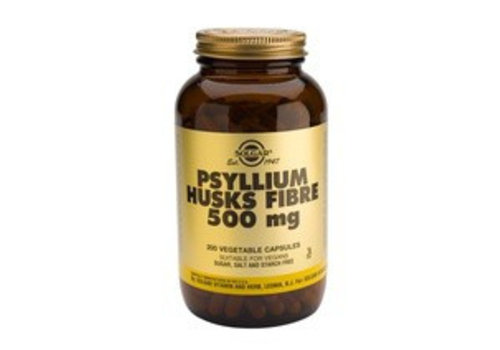 Solgar Psyllium Husks 500 mg (Vlozaad) (200 capsules)