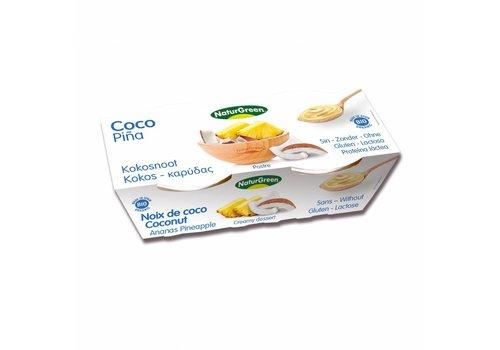 Naturgreen Kokos Ananas Dessert Biologisch