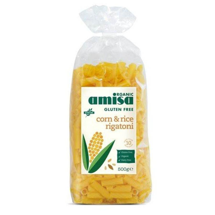 Maïs en Rijst Rigatoni Biologisch