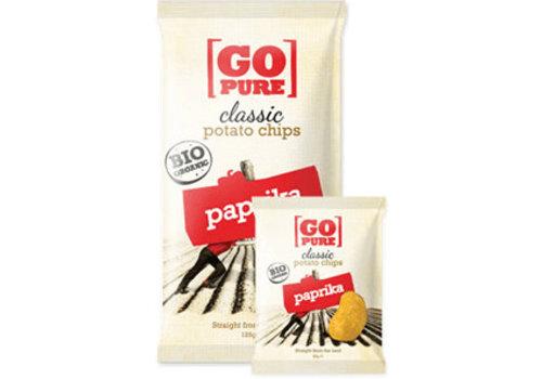 GoPure Classic Potato Chips Paprika Biologisch