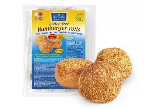 Bezgluten Hamburgerbroodjes 3 Stuks