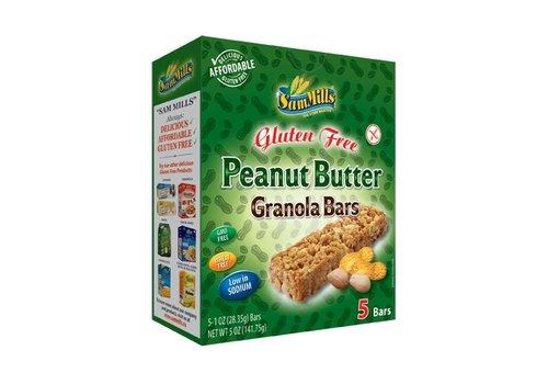 Sam Mills Peanut Butter Granola Bars 5 Stuks