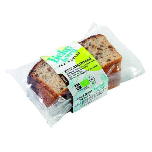 Lieke is vrij Rozijnenbrood Biologisch