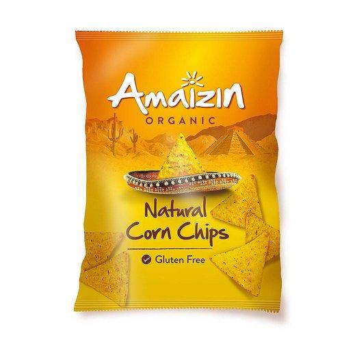 Amaizin Maïschips Naturel 150 gram Biologisch