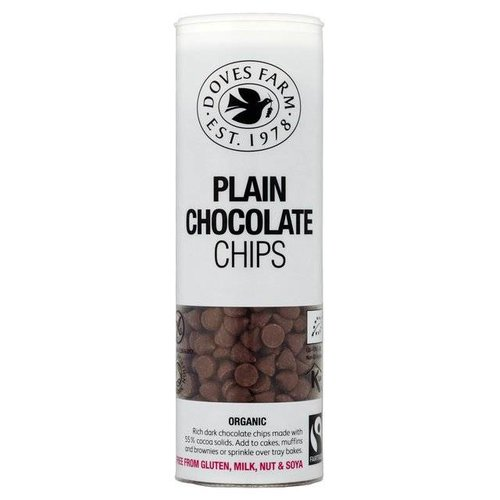 Doves Farm Plain Chocolate Chips Biologisch