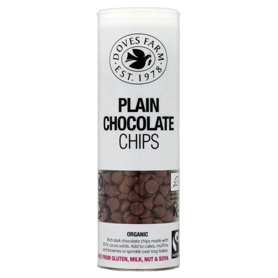 Plain Chocolate Chips Biologisch