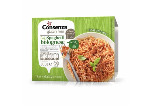 Consenza Spaghetti Bolognese met zongedroogde Tomaten