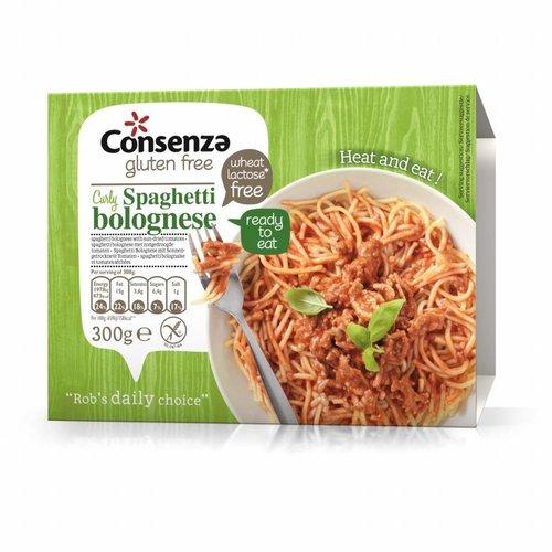 Consenza Spaghetti Bolognese met zongedroogde Tomaten