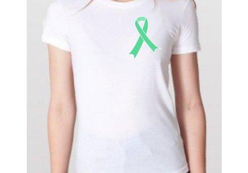 Coeliakiemaand Dames T-shirt wit, maat XL