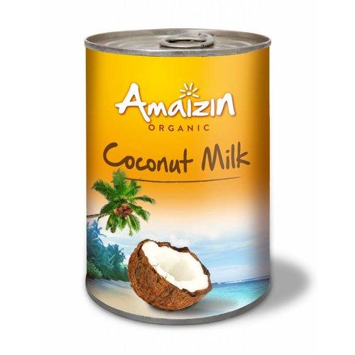 Amaizin Kokosmelk 400 ml Biologisch