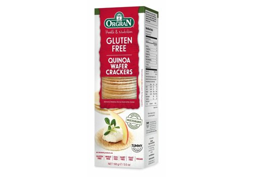 Orgran Multigrain Quinoa Wafer Crackers