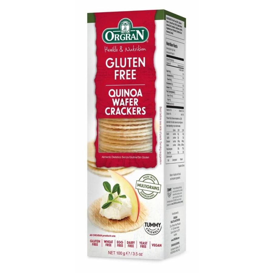 Multigrain Quinoa Wafer Crackers