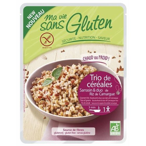 Ma Vie Sans Gluten Granentrio Boekweit en Rijst Biologisch