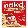 Nakd Bakewell Tart Bar 4-pack