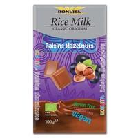 Rijstmelk Chocolade Rozijn en Hazelnoot Biologisch
