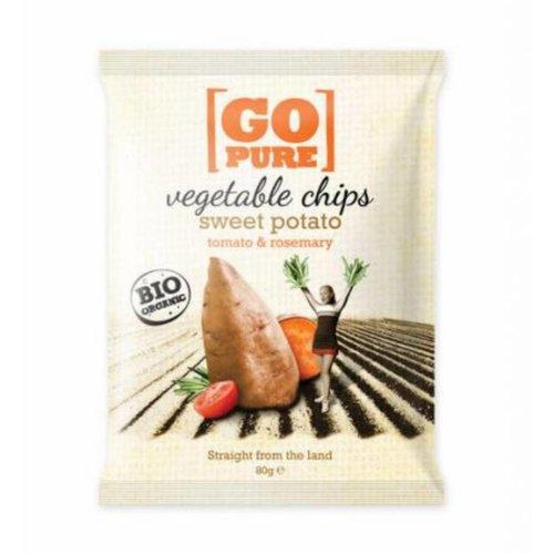 GoPure Zoete Aardappel Chips Biologisch