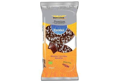 Bonvita Maiswafels met Pure Chocolade en Kokos Biologisch